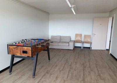Petite salle avec jeux