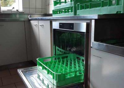 Lave-vaisselle industriel